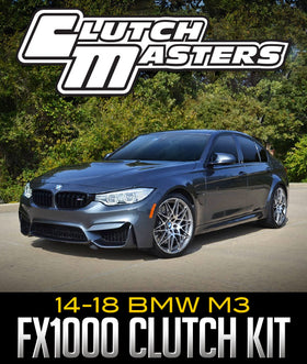 CLUTCH MASTERS FX1000 CLUTCH KIT: 2014–2018 BMW M3