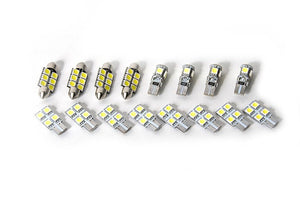 RFB Audi B8 A4/S4 Sedan Complete Interior LED Kit (without footwell LEDs)