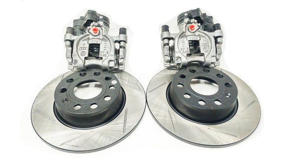 VTT Ultimate brake conversion kit Scallopd Rotors