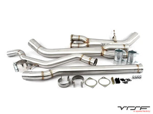 VRSF High Flow Single Mid-pipe Upgrade for 2015 – 2019 BMW M3 & M4 F80/F82 S55