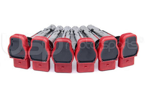 "OEM Audi Ignition Coils 2.7T Set of 6 ""Red"""