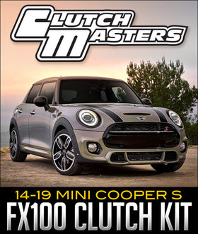 CLUTCH MASTERS FX100 CLUTCH KIT: 2014–2019 MINI COOPER S
