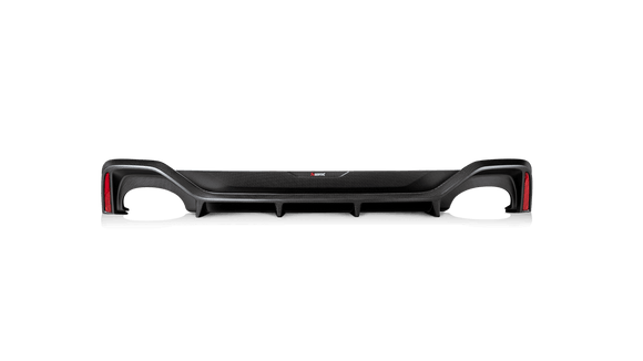 Akrapovic 2020 Audi RS6 Avant/RS7 Sportback (C8) Rear Carbon Fiber Diffuser - High Gloss