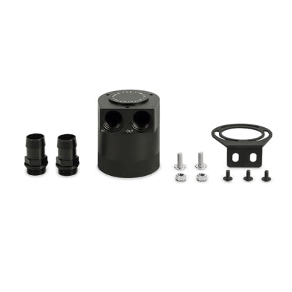 Mishimoto Universal High Flow Baffled Oil Catch Can - Kit