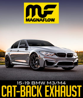 MAGNAFLOW TOURING SERIES CAT-BACK EXHAUST SYSTEM: 2015–2019 BMW M3/M4