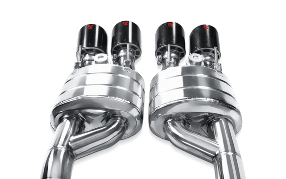 Akrapovic 06-13 Chevrolet Corvette ZO6/ZR1 (C6) Slip-On Line (SS) (Req. Tips)