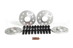 SPULEN Wheel Spacer & Bolt Kit- 10 & 15mm with Black Conical Seat Bolts