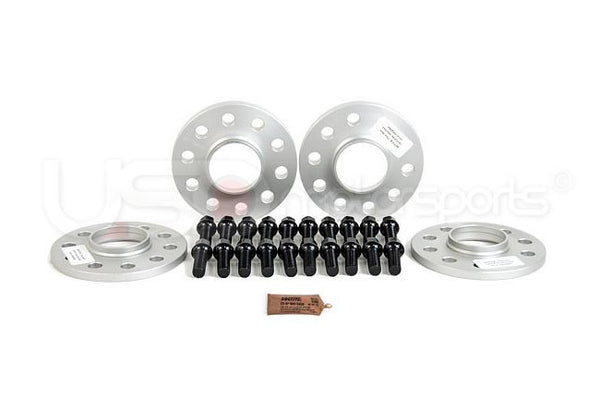 SPULEN Wheel Spacer & Bolt Kit- 15mm (66.6mm Hub) with Black Ball Seat Bolts
