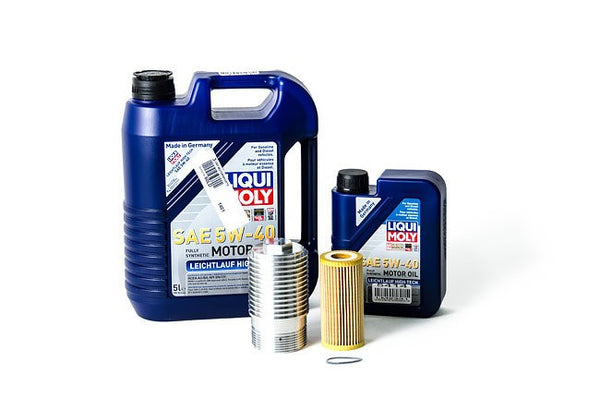 Liqui Moly Complete Oil Service Kit with Cool Flow Filter Housing - 1.8T and 2.0T Gen3