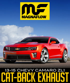 MAGNAFLOW STREET SERIES CAT-BACK EXHAUST SYSTEM: 2013–2015 CHEVY CAMARO ZL1