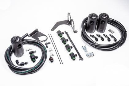 Radium Engineering Nissan R35 GT-R Triple Catch Can Kit