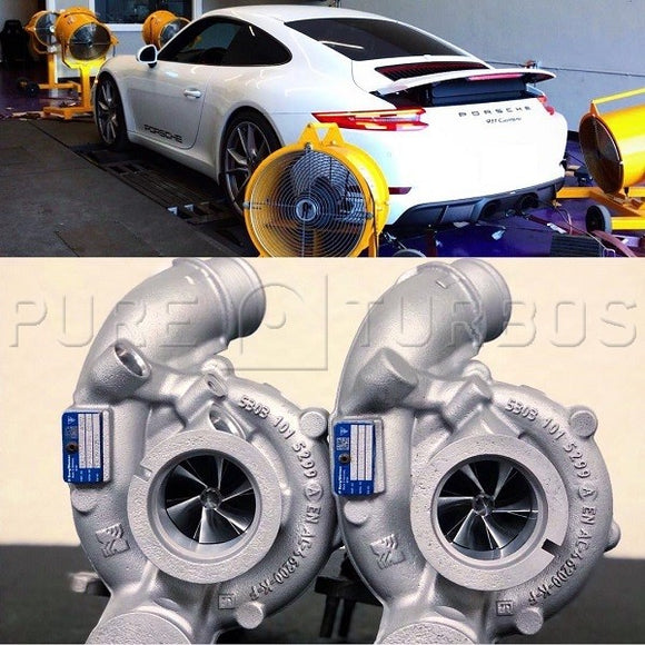 Porsche 991.2 3.0L PURE Upgrade Turbos