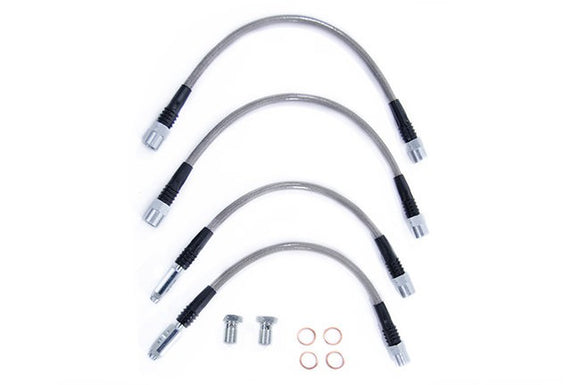 USP Stainless Steel Brake Line Kit- B6/B7 A4/S4