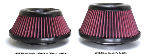 BMS Silicon Single Turbo Filter