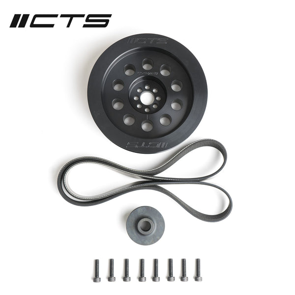 CTS TURBO 3.0T V6 DUAL PULLEY UPGRADE KIT (PRESS-ON, 180MM)