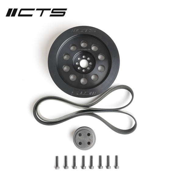CTS TURBO 3.0T V6 DUAL PULLEY UPGRADE KIT (BOLT-ON, 187MM)