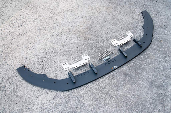 VW MK7 Golf R Front Splitter With Aerospacers & Front Crossbar Mounts