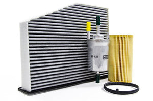 Filter Trio Kit (Oil, Fuel, A/C Cabin Filter): MK5/6 2.0T FSI