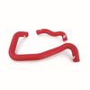 Mishimoto 05-07 Ford 6.0L Powerstroke Coolant Hose Kit (Monobeam Chassis) (Red)