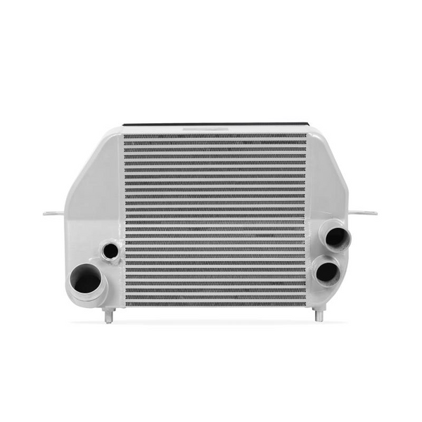 Mishimoto 2011-2014 Ford F-150 EcoBoost Silver Intercooler w/ Black Pipes