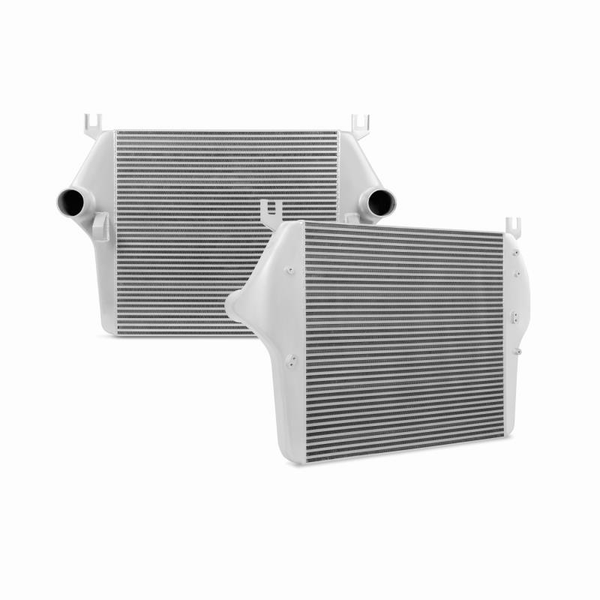 Mishimoto 03-07 Dodge 5.9L Cummins Intercooler Kit w/ Pipes (Silver)