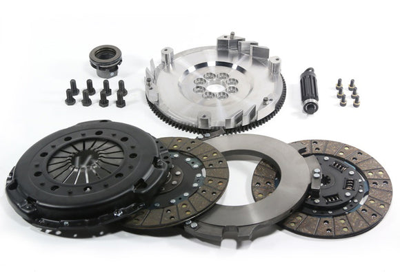 DKM Clutch BMW N54 MS Organic Twin Disc Clutch Kit w/Flywheel