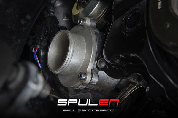SPULEN 2.0TSI Boost Pipe Kit with Turbo Muffler Delete
