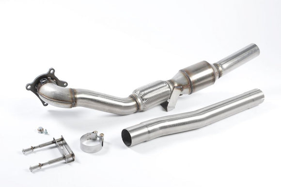 Milltek Large Bore Downpipe and Hi-Flow Sports Cat - VW MK6 GTI 2.0T
