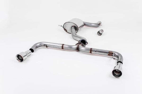 Milltek Non-Resonated Race Exhaust System - MK6 GTI 2.0T