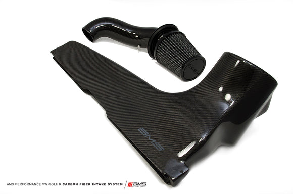 AMS Performance 2015+ VW Golf R MK7 Carbon Fiber Intake System