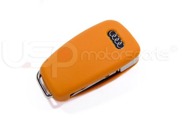 Silicone Key Fob Jelly (Audi Models)- Orange