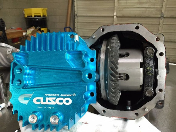 CUSCO REAR DIFFERENTIAL COVER: 2013+ SCION FR-S/SUBARU BRZ/TOYOTA 86