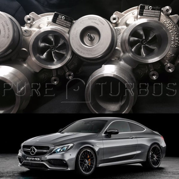 Mercedes Benz C63S & AMG GT M177/M178 PURE 800 Upgrade Turbos