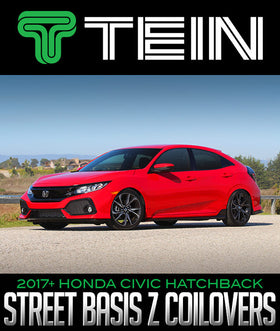 TEIN STREET BASIS Z COILOVERS: 2017+ HONDA CIVIC HATCHBACK