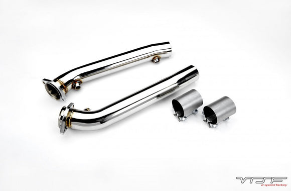 VRSF Stainless Steel Test Pipes 2008 – 2013 BMW M3 S65 V8