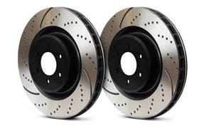 Rear EBC Slotted | Dimpled Rotors - Set Of 2 Rotors (272x10mm)