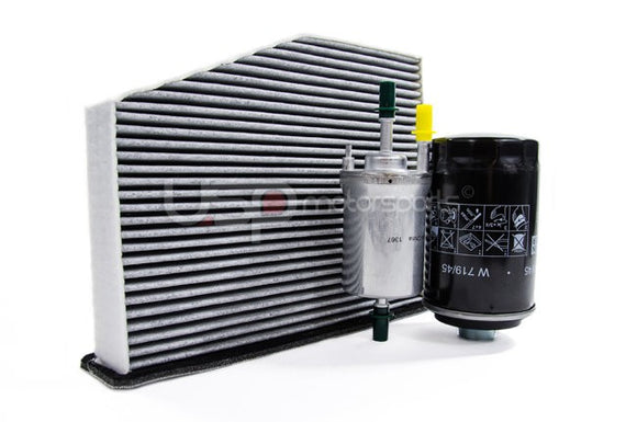 Filter Trio Kit (Oil, Fuel, A/C Cabin Filter): MK5/6 2.0 TSI