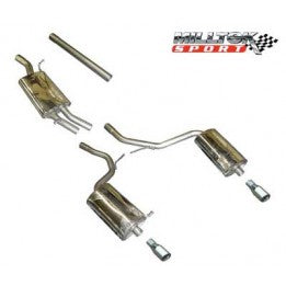 Milltek Cat Back Kit - A4 2.0T FWD Automatic