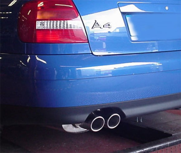 Milltek Sport Non Resonated Exhaust - A4 1.8T Quattro Automatic
