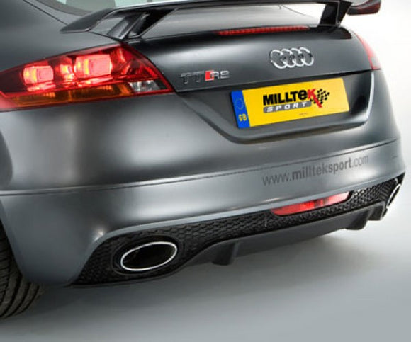 Milltek Turbo-Back Including Hi-Flow Sport Cat - TT RS