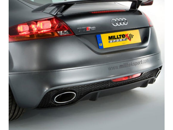 Milltek Non Resonated Racing Cat Back Exhaust - MK2 TT RS