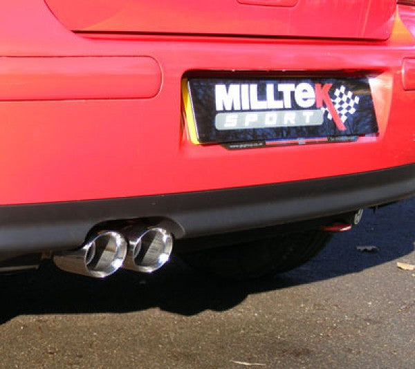 Milltek Resonated Cat Back Exhaust - MK4 Golf GTI 1.8T / 1.9 TDI