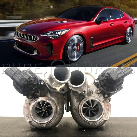 Kia Stinger Pure Upgrade Turbos