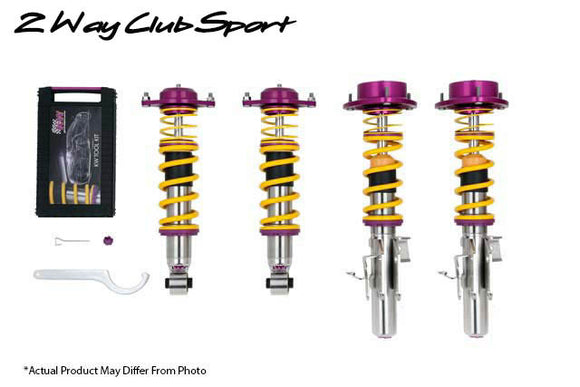 KW 2-Way Clubsport Coilover Kit - VW Golf VII, Audi A3