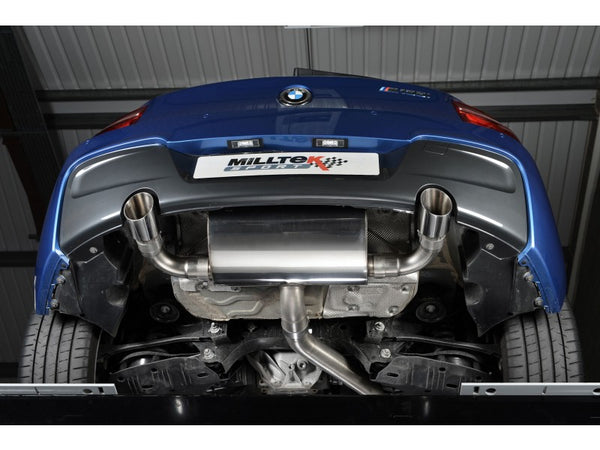 Milltek Cat Back Exhaust Road Verison With Polished Tips  - BMW M 135i 3 & 5 Door (F21 & F20)