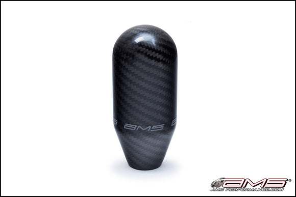 AMS EVO VII/VIII/IX and X 5-speed Carbon fiber Shift knob with logo