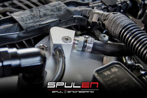 Spulen MK7 Golf R, S3 Billet Spherical Catch Can Kit V2 - Black
