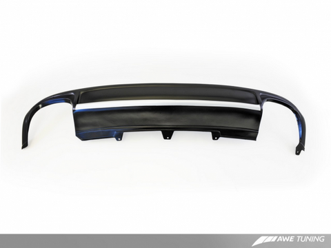AWE Tuning B8 A4 2.0T Sedan Quad Outlet Bumper Conversion Kit W/ Lower Valance and Trim Strip - For S-Line Cars