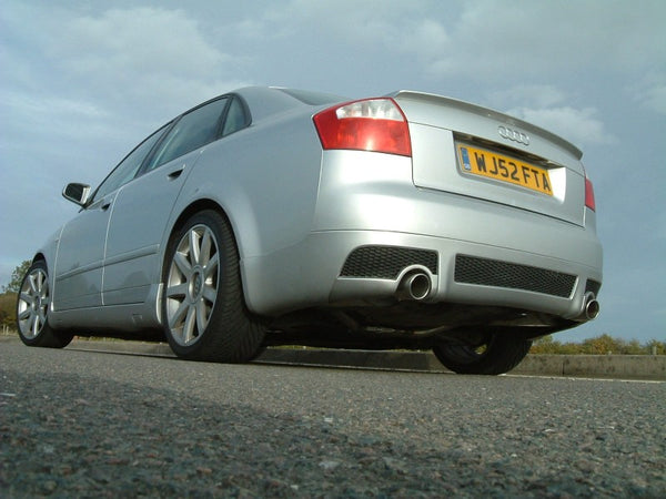 Milltek Cat Back Exhaust with 100mm Tips - A4 1.8T B6 2WD - 6 speed