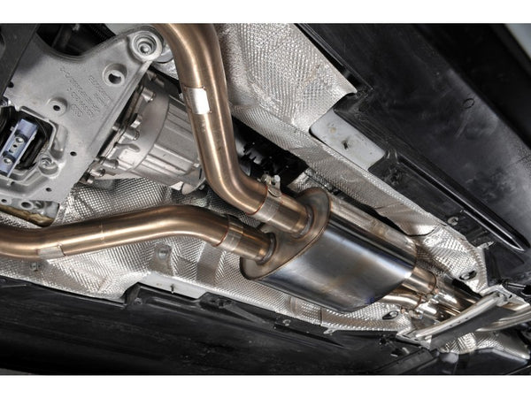 Milltek Cat Back Resonated Exhaust - Black Oval Tips - B8 S4 Sedan & S5 Sportback 3.0T quattro
